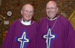 Archbishop Malcolm and Bishop Tom